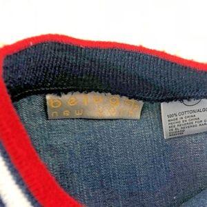 Beluga NY Jackets & Coats - Beluga NY Sz 2T Letterman Jacket Boys Blue Zip Up